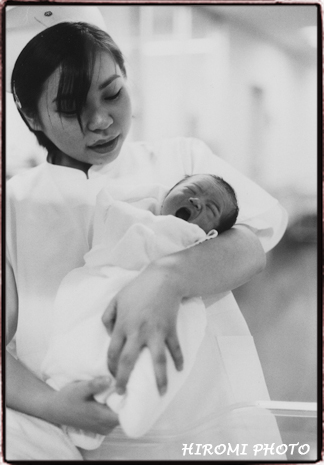 産まれたばかりの赤ちゃん2