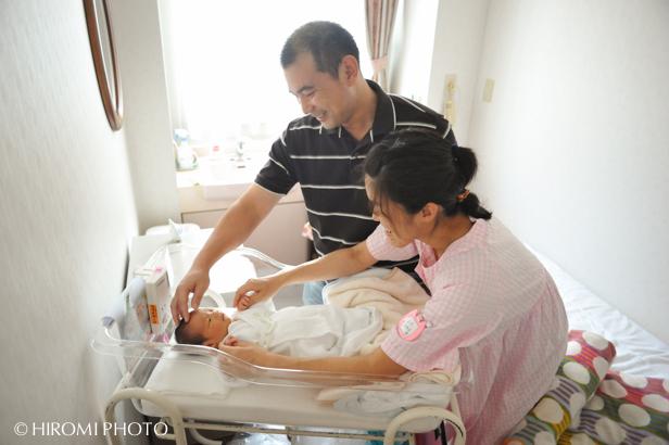 産院での新生児フォト_2656s
