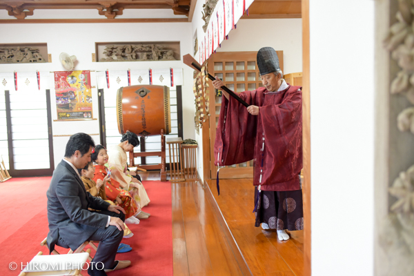 真鶴貴船神社にて七五三の出張撮影