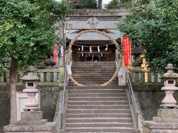 五所神社茅の輪