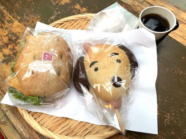 和っしょいさんのドッグパン