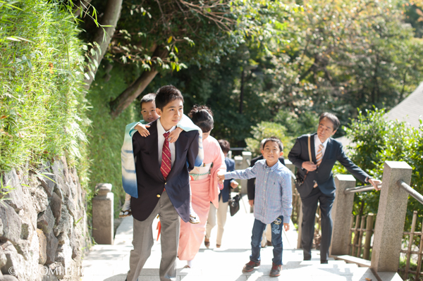 七五三の出張撮影@鎌倉