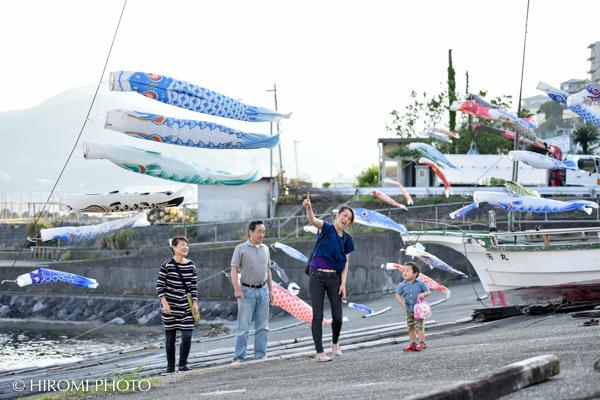 鯉のぼり@福浦港