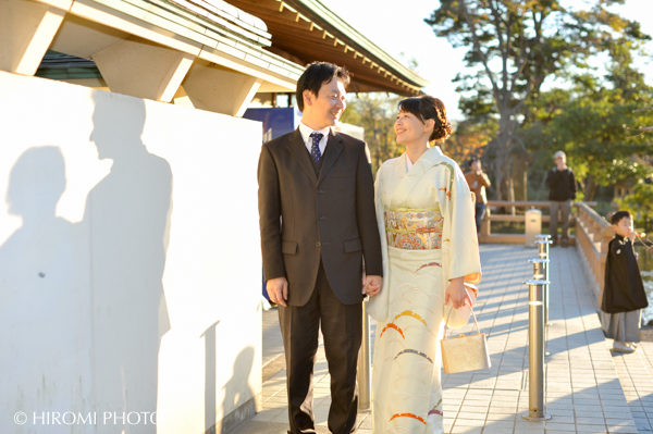 結婚記念日ロケ