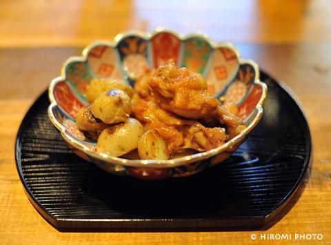 鶏肉の杏ジャム煮
