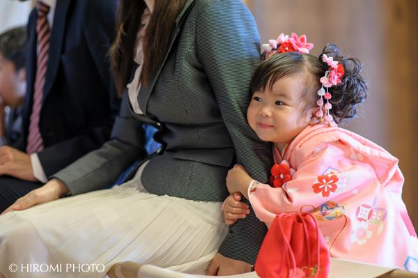 諏訪神社にて七五三の出張撮影