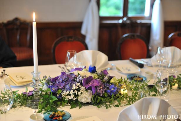 装花も紫陽花