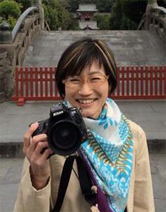 米山裕美(女性フォトグラファー)のポートレート