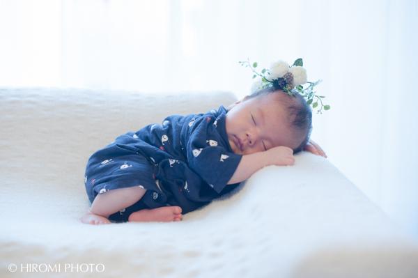 スヤスヤ眠っている赤ちゃん